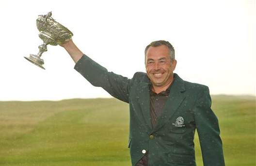 In August 2012 Pat Murray ended years of heartbreak with his victory in the South of Ireland Amateur Open Golf Championship