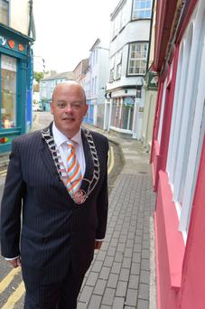 Tomas O'Brien, chairman of the Kinsale Chamber of Tourism and Business.