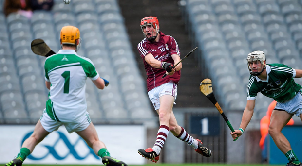 Conor Whelan scores against Limerick in the All Ireland Minor Championship Semi-Final in 2014