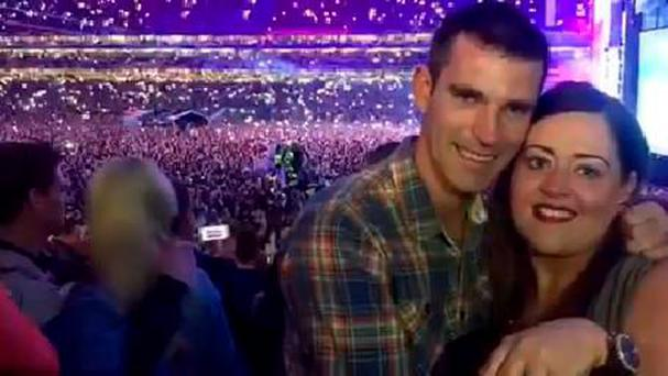 Leanne Peoples and Cathal Shortt got engaged at the first of two Ed Sheeran concerts at Croke Park