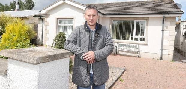 Paul Welsh had to move out of his home in Carrickfergus after the rats took over