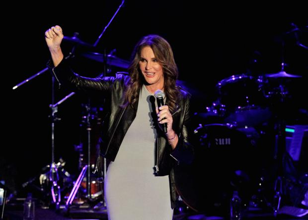 LOS ANGELES, CA - JULY 24: Caitlyn Jenner introduces Boy George and Culture Club at The Greek Theatre on July 24, 2015 in Los Angeles, California. (Photo by Tibrina Hobson/WireImage)