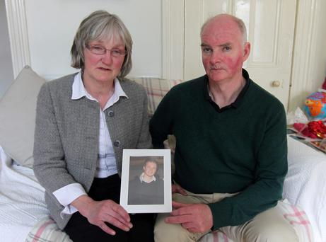 Lucia and Jim O'Farrell, parents of hit-and-run victim Shane O'Farrell