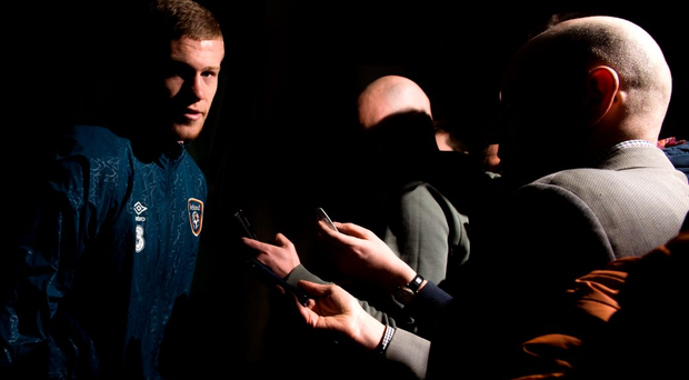 'James McClean should respect the British anthem because good manners cost nothing'