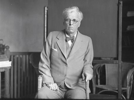 WB Yeats. Photo: NPA Collection