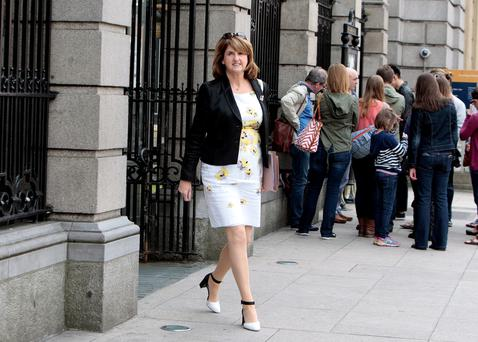 STRATEGY: Labour leader Joan Burton attended all the pre-Budget policy forums held around the country recently. Photo: Tom Burke