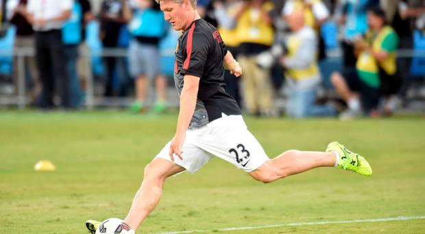 Bastian Schweinsteiger has made a visible impact, both on the pitch and off it, during United's pre-season tour of the United States