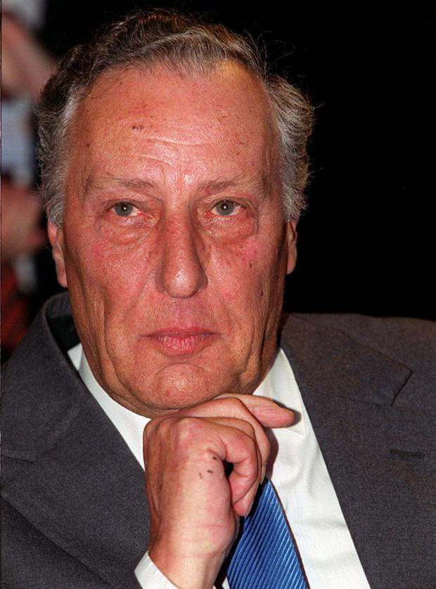 REAL-LIFE THRILLS: Writer Frederick Forsyth was once tipped off that he had 80 seconds to flee his hotel in Hamburg before underworld arms dealers would arrive to exact revenge on him
