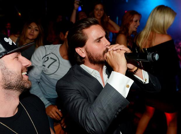 LAS VEGAS, NV - JULY 24: Scott Disick hosts an evening at 1 OAK inside Mirage Hotel & Casino on July 24, 2015 in Las Vegas, Nevada. (Photo by Denise Truscello/WireImage)