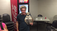 Niall Horan was at a UFC event last night in Chicago