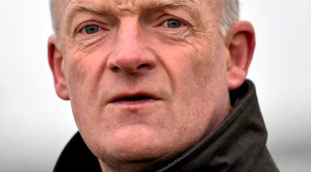 Trainer Willie Mullins, whose horse Bachasson has been in good form recently
