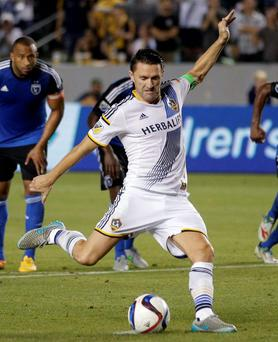 Robbie Keane has played for LA Galaxy since 2011