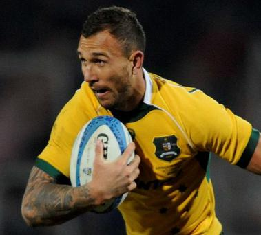 An angry tweet from Quade Cooper has caused some to question the unity of the Australia squad