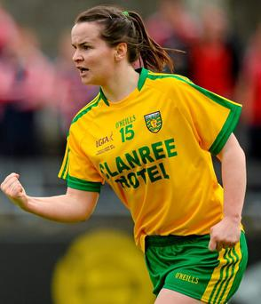 An excellent performance from Geraldine McLaughlin saw her score 2-7