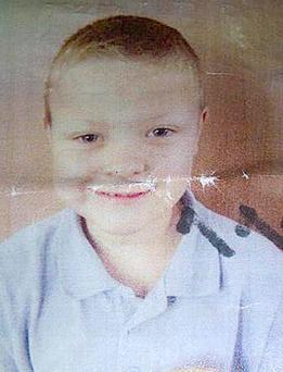 Conley Thompson (7) from Barnsley, who has not been seen since 8pm last night. Photo: South Yorkshire Police/PA Wire