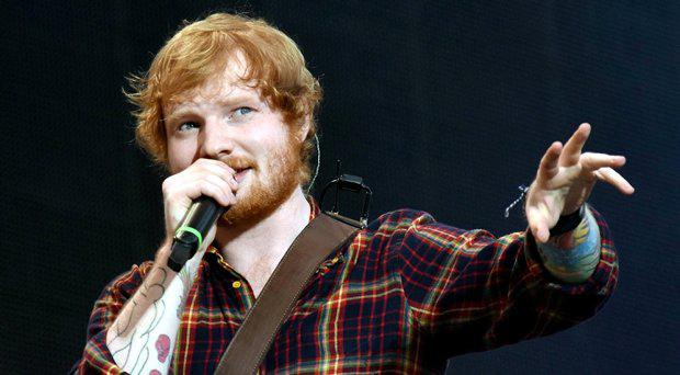 Ed Sheeran concert at Croke Park