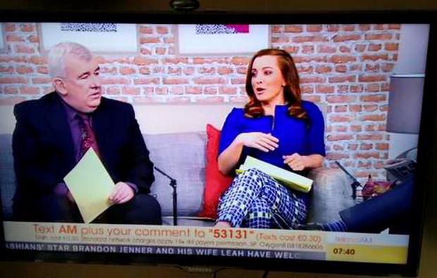 Ireland AM froze this morning on TV3 much to viewers' confusion