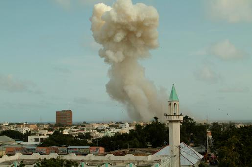 File photo: Somalia's capital Mogadishu. Reuters/Feisal Omar