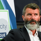 Ireland assistant manager Roy Keane at the SSE Airtricity National U17s League Launch