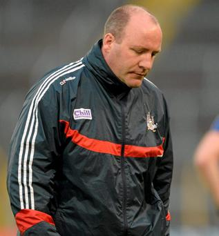 Brian Cuthbert is under pressure after Cork's defeat to Kildare