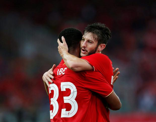 Adam Lallana was dogged by niggling injuries and fitness concerns throughout his first year at Anfield