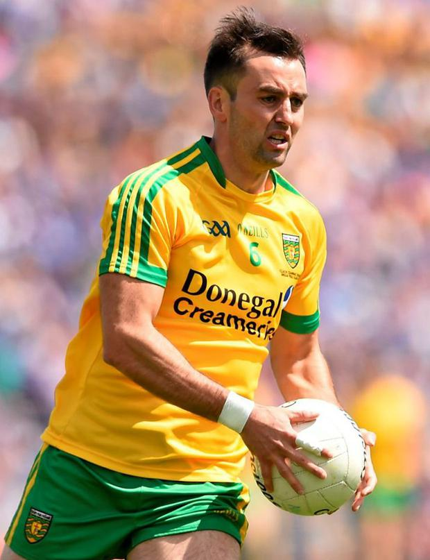 Donegal's Karl Lacey will be the squad's only player ruled out of Saturday night's qualifier against Galway
