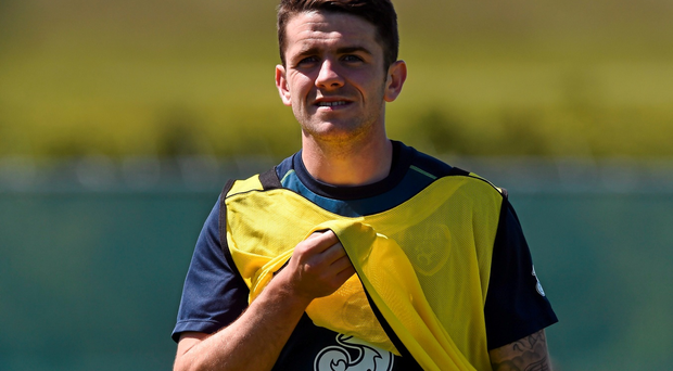 Robbie Brady: set to link up with Wes Hoolahan at Carrow Road