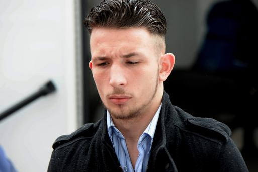 Luke Quilligan pictured at Cork Circuit Court