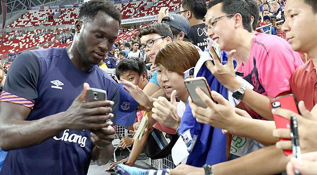 Moving on? Could Romelu Lukaku be joining Manchester United