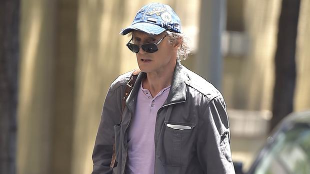 Liam Neeson is seen in Soho on July 25, 2015 in New York City. (Photo by Alo Ceballos/GC Images)