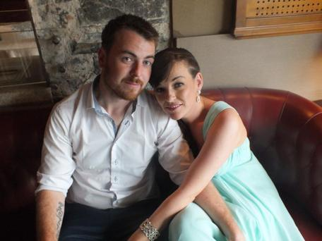 Newly Engaged: Paul O'Brien and Shirley Price
