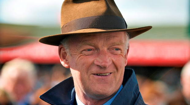 Trainer Willie Mullins after he sent out Long Dog to win the Topaz Novice Hurdle. Galway Racing Festival, Ballybrit, Galway. Picture credit: Cody Glenn / SPORTSFILE