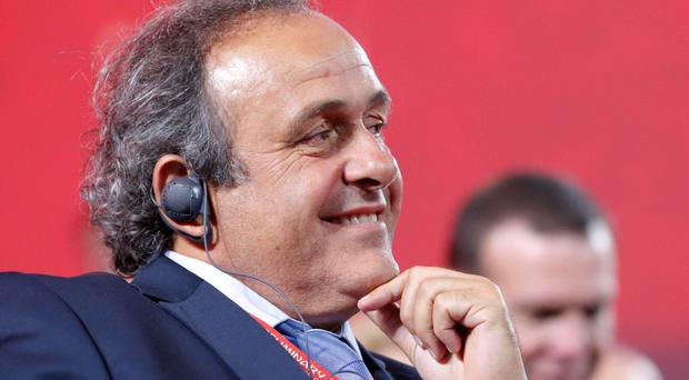Platini, the Uefa president, was expected to announce his candidacy at some point today, having gained enough pledges of support to be confident of winning the battle to succeed Sepp Blatter