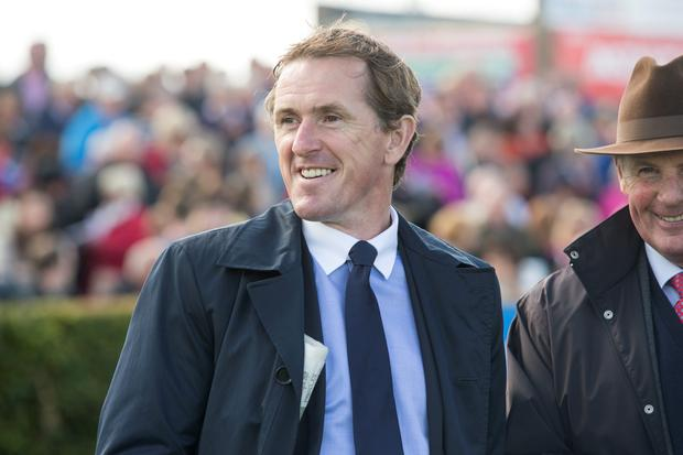 Former champion jockey AP McCoy at day two 2015 Galway racing festival