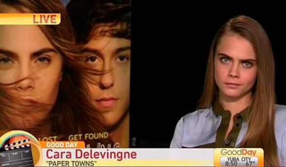 Cara Delevingne on Good Day Sacramento