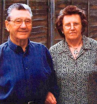 Robert and Elsie Crook who were bludgeoned to death by their son, Timothy Crook in 2007 Credit: Wiltshire Police/PA Wire