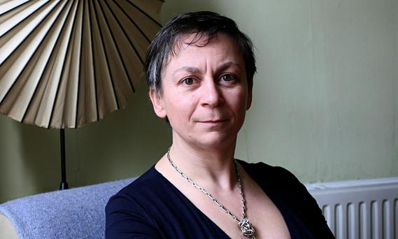 Irish novelist Anne Enright