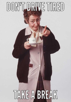 Mrs Doyle is urging drivers to take a break during journeys this weekend