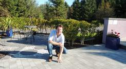 Diarmuid Gavin advises letting the gardeners know you value your outside space. Photo: Kilsaran