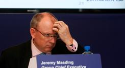 Jeremy Masding, Group Chief Executive of Permanent TSB, at a press conference on Tuesday