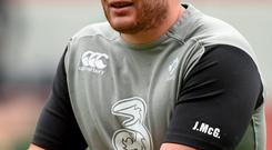 Shane Jennings said that Jack McGrath (pictured) had the international experience to take part in the World Cup if necessary