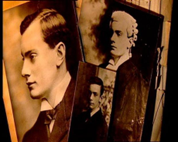 A composite picture of Patrick Pearse, courtesy of RTÉ