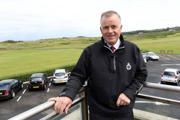 Open and shut: John Bamber is sure Royal Portrush is ready
