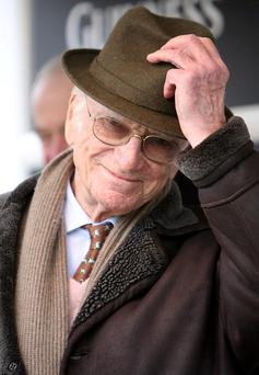 A minute's silence was held for Sir Peter O'Sullevan