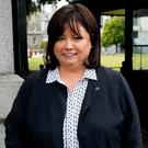Mary Harney at Leinster House. Photo: Tom Burke