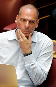 Former Greek Finance Minister Yanis Varoufakis. Photo: Reuters