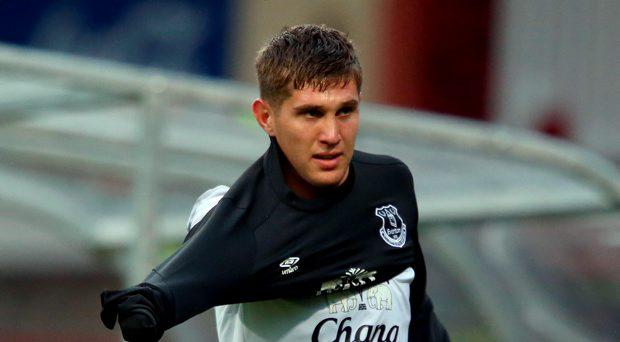 Everton's John Stones during the pre-season friendly