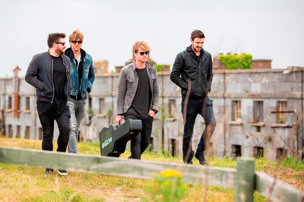 Picture shows Kodaline performing an intimate gig for 100 people on Spike Island, off the coast of Cork. Pic:Naoise Culhane