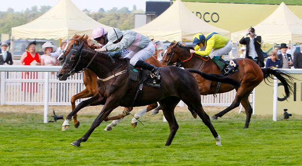 Clondaw Warrior - Ryan moore wins from Fun Mac - Richard Hughes The Ascot Stakes (Handicap)