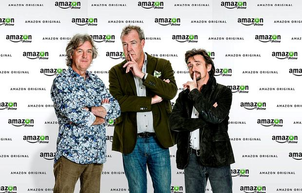 Screen grabbed image taken from the Twitter feed of Richard Hammond after it was announced that he, James May and Jeremy Clarkson have signed a deal for a new motoring show with Amazon